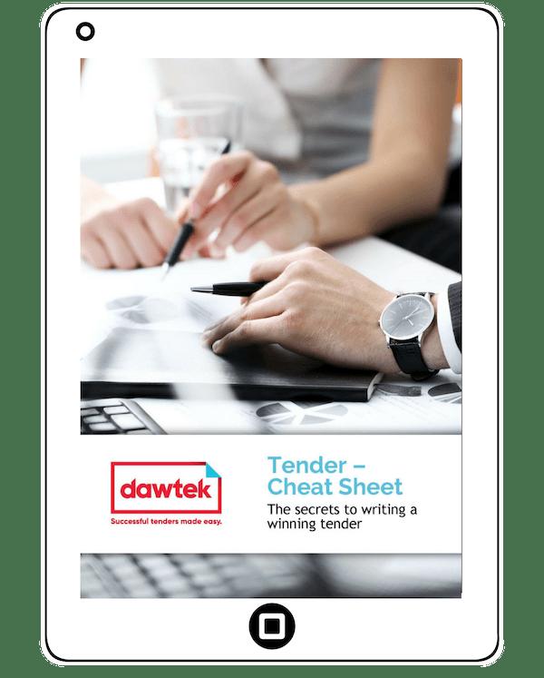 Tender Writing | Dawtek | Tender Reviews, Resources & Strategies